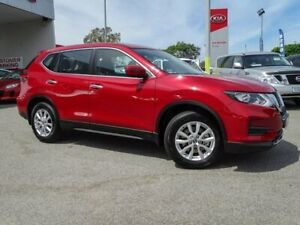 2019 Nissan X-Trail T32 Series II ST X-tronic 2WD Red 7 Speed Constant Variable Wagon Morley Bayswater Area Preview