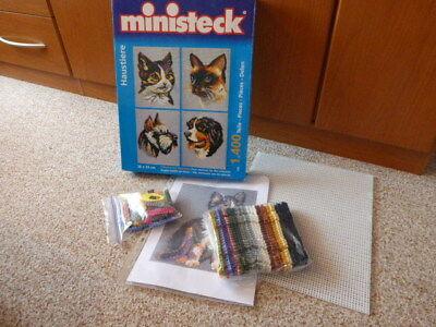 Ministeck - Haustiere Nr. 31702 plus Bonus