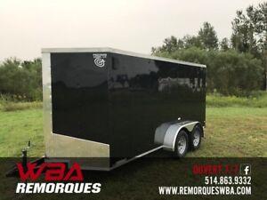 2019 Remorque Fermée 6 x 14 TA (6x14 ) Précision Cargo