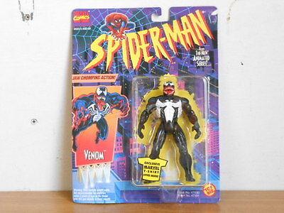 Spider Man   Venom 5  Action Figure  Nip