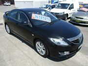 2009 Mazda 6 GH1051 MY09 Classic Black 5 Speed Sports Automatic Sedan Broadmeadow Newcastle Area Preview