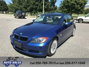 2008 BMW 328i ONLY 65000 KM!3 YEAR WARRANTY INC.!