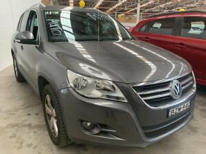 2011 Volkswagen Tiguan 5N MY11 147TSI DSG 4MOTION Grey 7 Speed Sports Automatic Dual Clutch Wagon Cardiff Lake Macquarie Area Preview