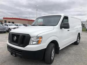 2012 NISSAN NV 2500 S - CARGO- Low Roof - 10 Ft Box-3/4 Ton