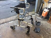 Drive Lightweight Rollator/ wheelchair