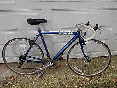 aea5c7713f0 VINTAGE 52 CM CANNONDALE 18 SPEED ROAD BIKE NEEDS NEW CHAIN&TIRES USA SALE  ONLY