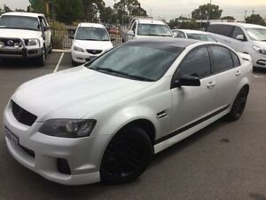 2011 Holden Commodore VE II SV6 White 6 Speed Automatic Sedan Beckenham Gosnells Area Preview