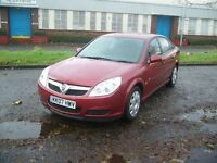 Vauxhall Vectra 1.8i VVT Life 5dr (red) 2007