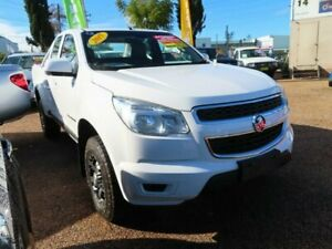 2015 Holden Colorado RG MY16 LS Crew Cab White 6 Speed Sports Automatic Cab Chassis