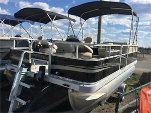 BOAT SHOW SPECIAL! 2018 MONTEGO BAY F8516 + EXTRAS + 25hp Yamaha