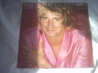 Vinyl LP Rod Stewart Greatest Hit Riva ROD TV 1