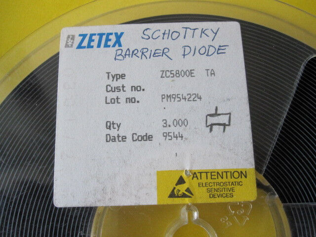 schottky barrier diodes (lot 300 items) ZC5800E