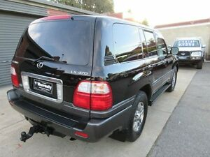 2003 Lexus LX470 UZJ100R (4x4) Black 5 Speed Automatic Wagon Holden Hill Tea Tree Gully Area Preview