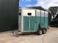 Ifor Williams HB510 double large horsebox horse trailer