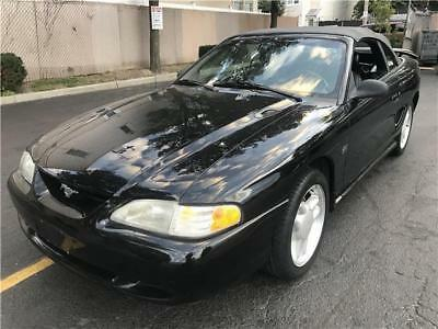 Used 1995 Black Ford Mustang  GT Photo 1