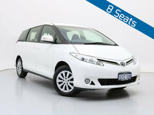 2018 Toyota Tarago ACR50R MY16 GLi White 7 Speed CVT Auto Sequential Wagon Jandakot Cockburn Area Preview