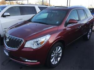 NEW 2017 Buick Enclave Premium  AWD Red on black NEW DEMO