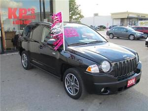 2008 JEEP COMPASS 4X4 NORTH EDITION ! FULLY LOADED !