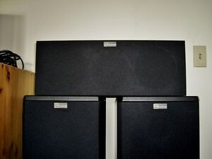 nuance Tower and Sat Speakers