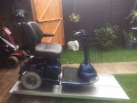 Any Terrain Heavy Duty Sterling 3 Wheel Mobility Scooter 18 Stone Capacity- Only £290 Was £2800