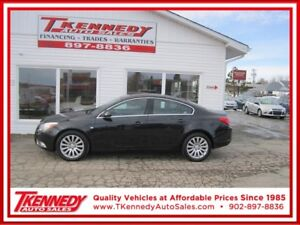 2011 BUICK REGAL CXL.JUST $10,877.00 ONLY $98.00 BI- Weekly OAC
