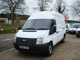 2012 FORD TRANSIT 2.2 TDCI T350L LWB High Roof 125ps Van