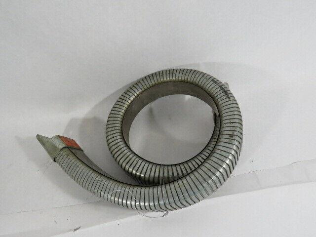 "Gortube C1B-1.59-32-3 Metal Enclosed Cable & Hose Carrier 32""L #3 Flange USED"