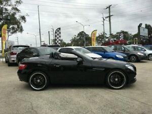 2011 Mercedes-Benz SLK200 R172 BLUEEFFICIENCY 7G-TR Black Semi Auto Roadster