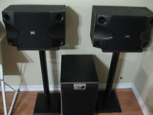 Speakers , Sub and stands for sale or trade !!