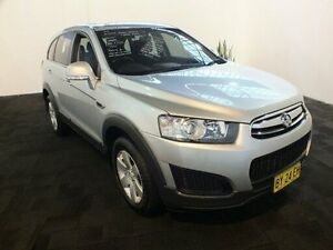 2014 Holden Captiva CG MY14 7 LS (FWD) Silver 6 Speed Automatic Wagon Clemton Park Canterbury Area Preview