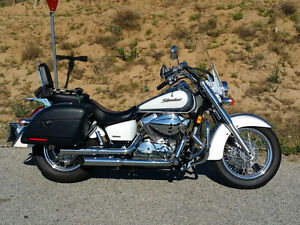 Over $4,000. in Accessories Honda Shadow