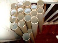 Cardboard Tubes - postage, crafts, storage
