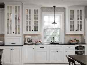 Kitchen cabinet painting and home painters - Trusted and local.
