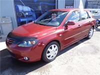 Mazda 3 GS 2006 , GARANTIE 6 MOIS INCLUS , 3950$