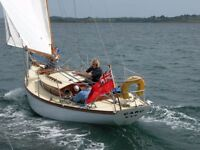 MCGRUER 27' CLASSIC YACHT IN GREAT CONDITION, DIESEL ENGINE £8950- reduced to sell