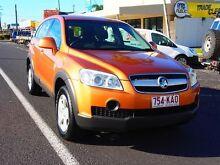 2006 Holden Captiva CG SX AWD Orange 5 Speed Sports Automatic Wagon Westcourt Cairns City Preview