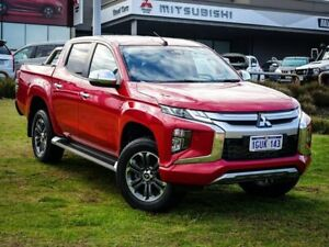 2019 Mitsubishi Triton MR MY19 GLS Double Cab Red 6 Speed Sports Automatic Utility Wangara Wanneroo Area Preview