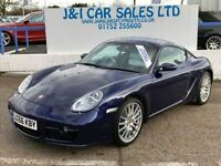 PORSCHE CAYMAN 3.4 24V S TIPTRONIC S 2d AUTO 295 BHP THIS CAR HAS (blue) 2006