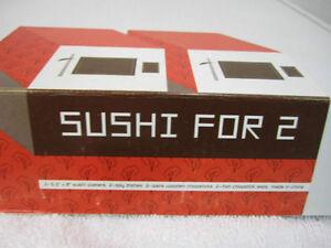 Sushi set for 2