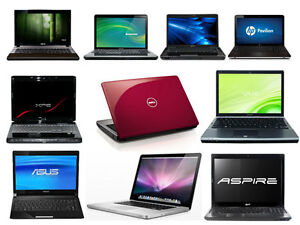 Laptops from $80! Battery, chargers for sale.