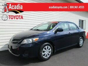 2012 Toyota Corolla CE Enhanced Conv Pkg includes Winter Tires!
