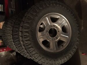 NITRO EXO GRABBLER AMT ON FORD F 350 RIMS