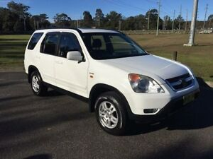 2002 Honda CR-V MY03 (4x4) Sport White 4 Speed Automatic Wagon West Gosford Gosford Area Preview