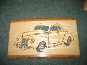 Automobile  Wall  Plaques