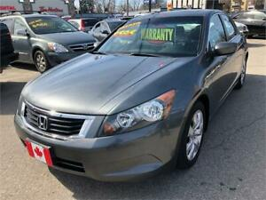 2008 Honda Accord Sdn EX-L LEATHER SUNROOF AUX...MINT COND.