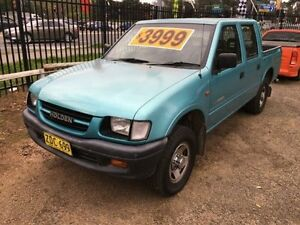 1999 Holden Rodeo TFR9 LX Blue 5 Speed Manual Crewcab Penrith Penrith Area Preview