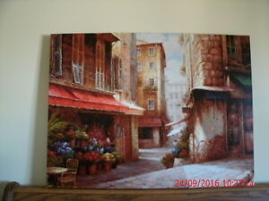 Beautiful Scene on Canvas Wrapped on Wood Frame. 40x30 inches