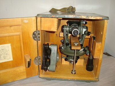 Vintage Optical Theodolite --1 Ussr Russia Transit Survey Level 1955not Used