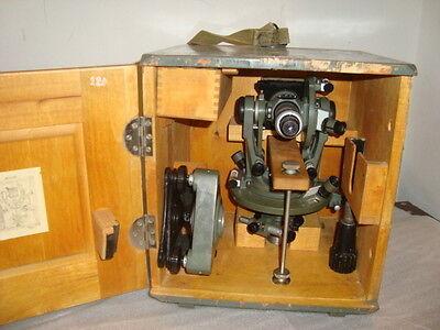 Vintage Optical Theodolite --1 Ussr Russia Transit Survey Level 1955not Used