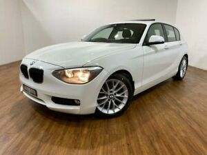 2012 BMW 118i F20 White 8 Speed Automatic Hatchback Kingsgrove Canterbury Area Preview